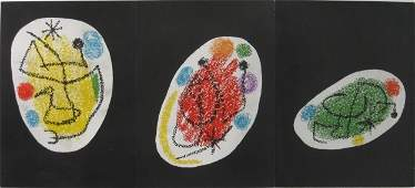 454 Joan Miro lithograph in colors