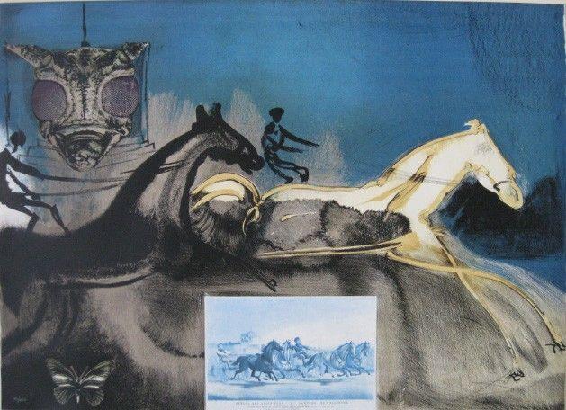 550: Salvador Dali lithograph