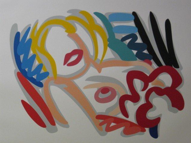 620: Tom Wesselmann silkscreen