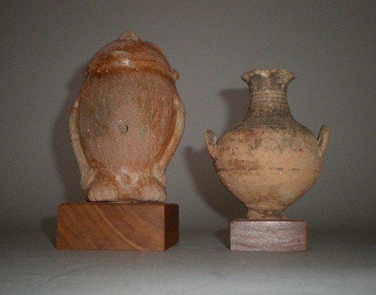 701: Pre-Columbian style ceramic figure
