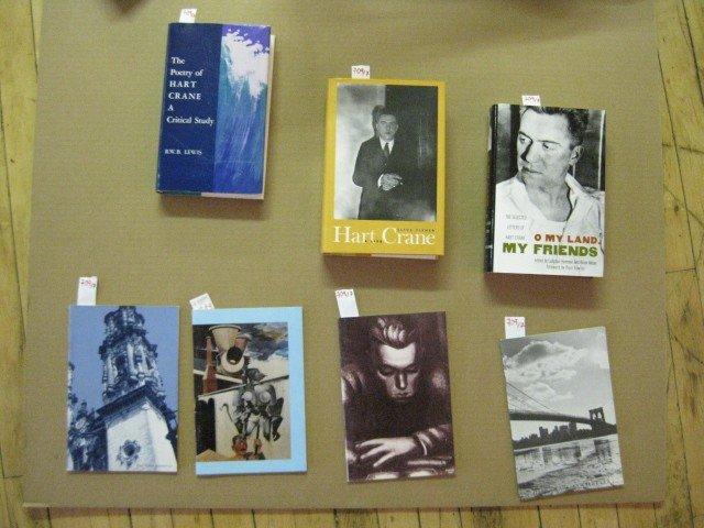 709: Hart Crane 7 books/booklets