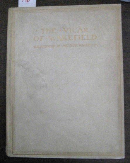 710: Rackham- The Vicar of Wakefield book