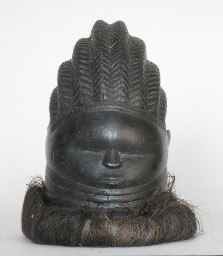 719: Mende/Sierra Leone Sowei Mask