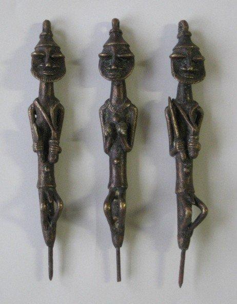 720: 3 Yoruba Nigeria Figures rom Ogboniedan