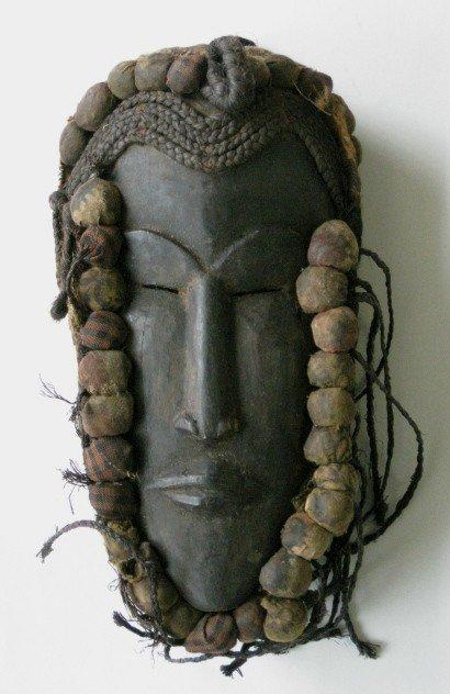 721: Guro Cote d'Ivoire Wood Mask