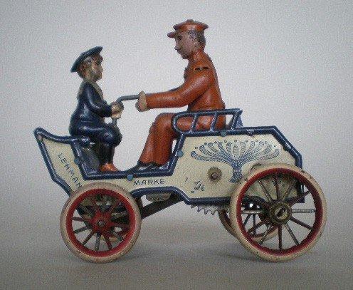 968: Antique German Lehman wind-up toy