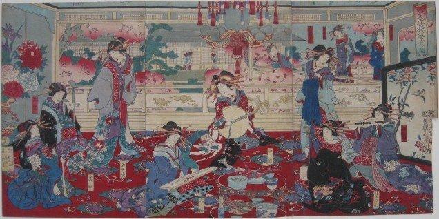 17A: Chikanobu Toyohara woodblock