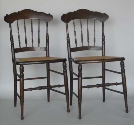 10: Pair of side chairs