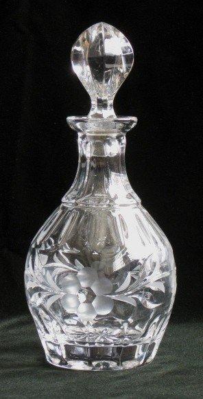 200 gorham lead crystal decanter