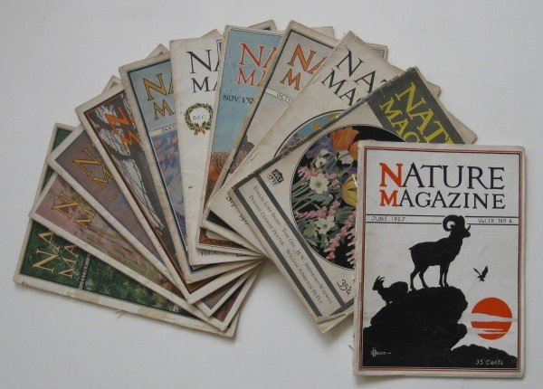 1: Nature Magazine- 11 vols