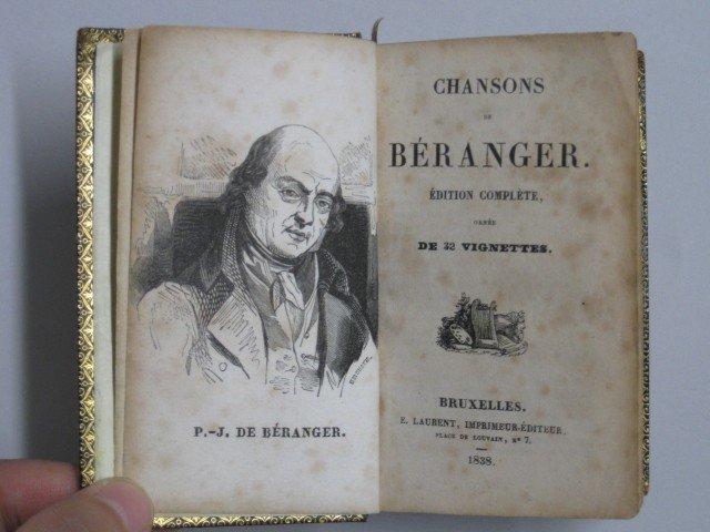 9: P. J. de Beranger- Chanson de Beranger - 4