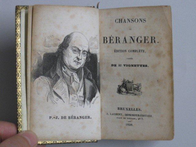 9: P. J. de Beranger- Chanson de Beranger - 5