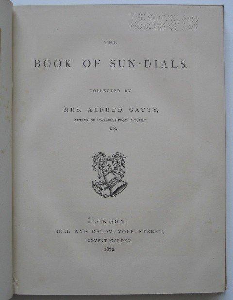 14: Margaret Gatty- The Book of Sun Dials - 4
