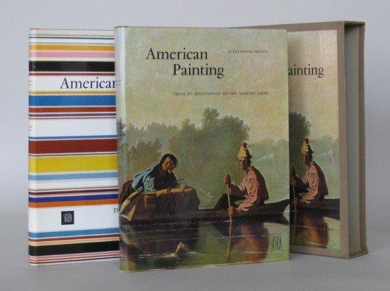 19: Jules Prown- American Painting- 2 vols.