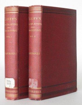 22: Symonds- Essays Speculative and Suggestive