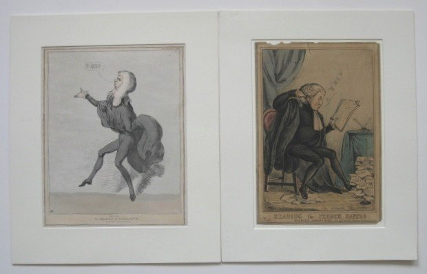 12: 6 Prints including 3 British engravings