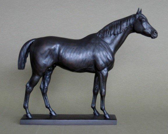 81: Sir Joseph Edgar Boehm bronze sculpture