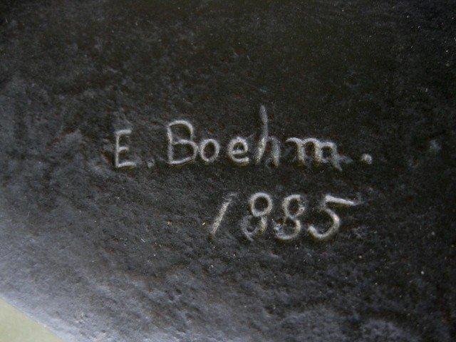 81: Sir Joseph Edgar Boehm bronze sculpture - 4