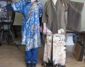 453: Japanese Kimono and Chinese robe