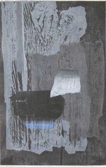 7: Hideo Hagiwara woodcut