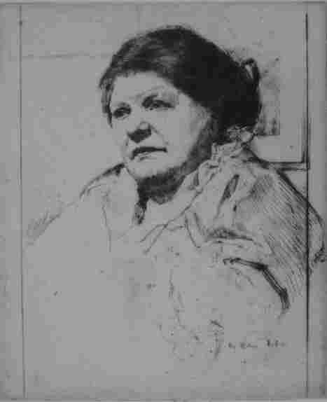 47: William Auerbach-Levy etching