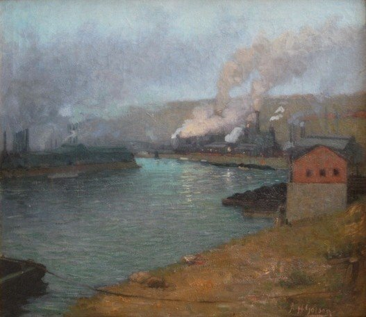 139: Aaron H. Gorson oil