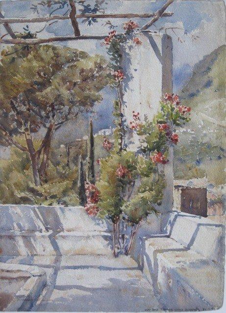 233B: Florence Robinson watercolor