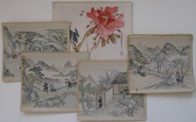 1: Chinese School watercolors