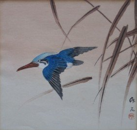 4: 20th c. Japanese School woodblock