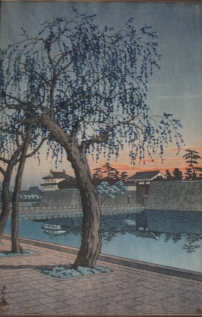 14: Kawase Hasui woodblock