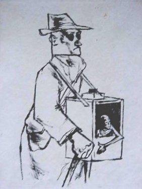 260: Andre Ruellen etching