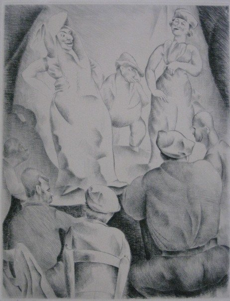 263: Hemilce Saforcada etching