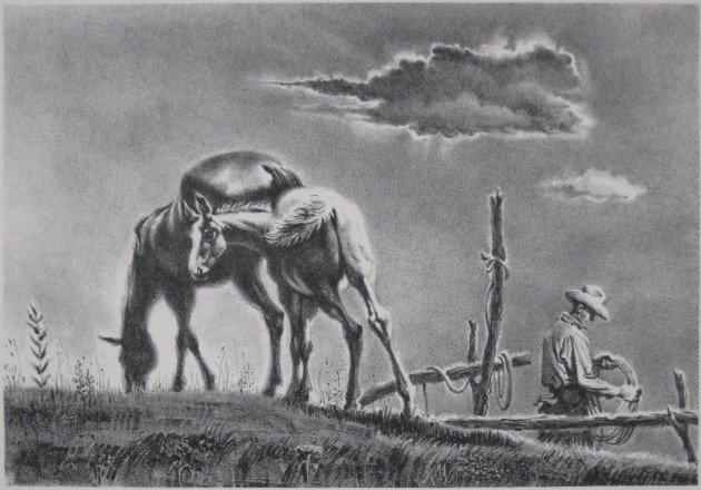 270: Georges Schreiber lithograph