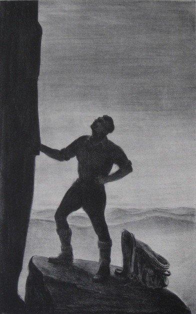 273: Hill Sharp lithograph