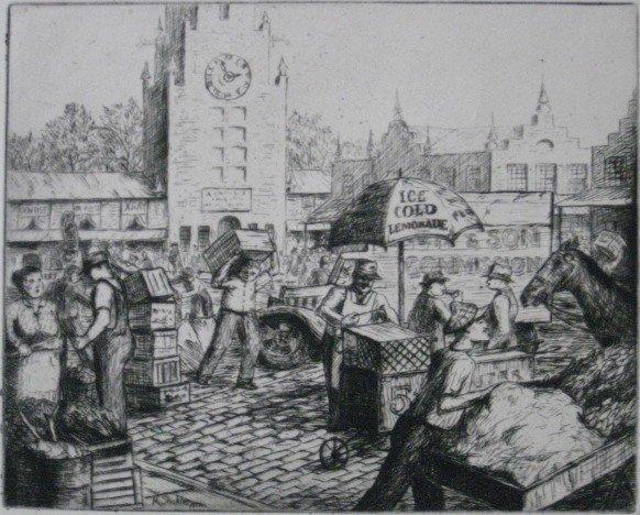 274: Harry Shokler etching