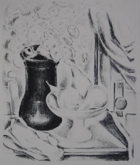 276: Antol Shulkin lithograph