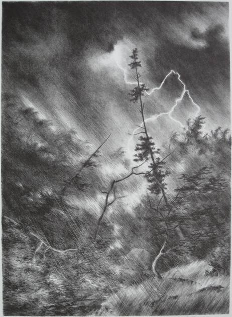 277: Jack Carter Shyrock lithograph