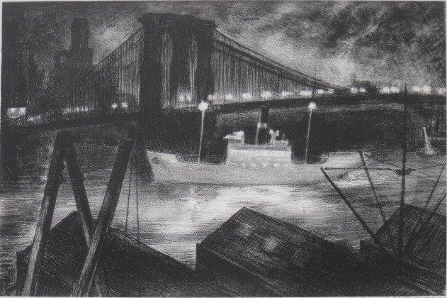 281: Raymond Skolfield lithograph