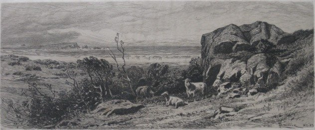 282: James D. Smillie etching
