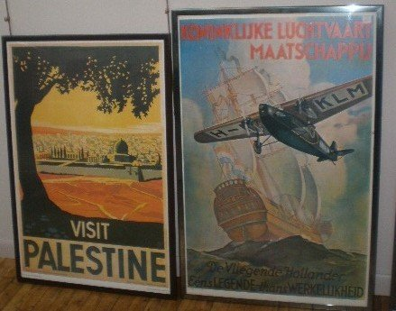 607: Reporduction travel posters
