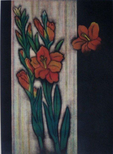 11: Shigeru Narikawa mezzotint