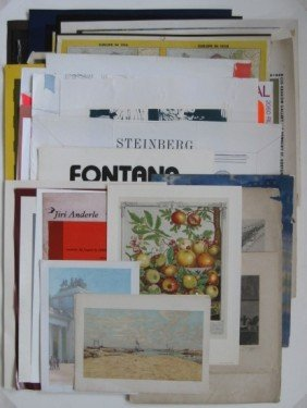13: Miscellaneous lot of exhibition and other posters