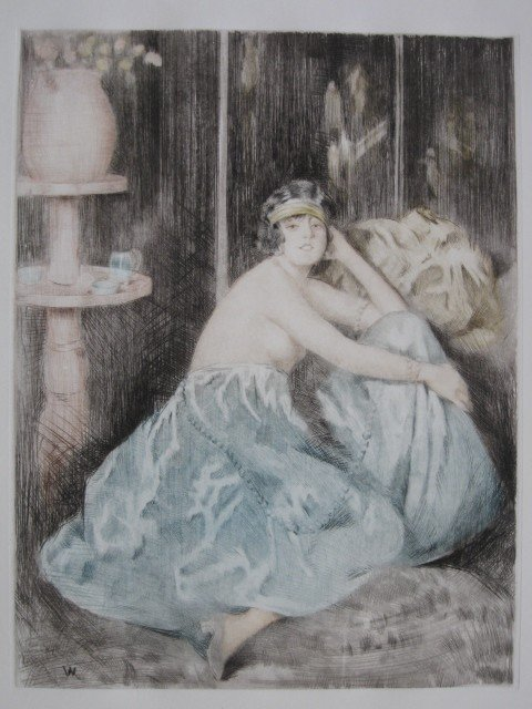 20: William Ablett aquatint
