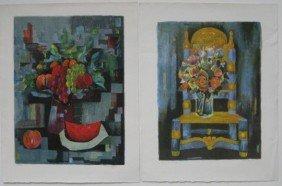 23A: Tony Agostini 2 lithographs