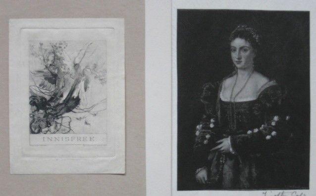 90: Timothy Cole 2 wood engravings
