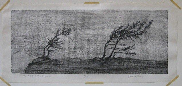 365: Dan Miller woodcut - 2