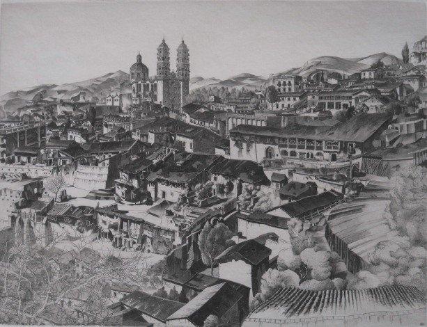 33: John Taylor Arms etching