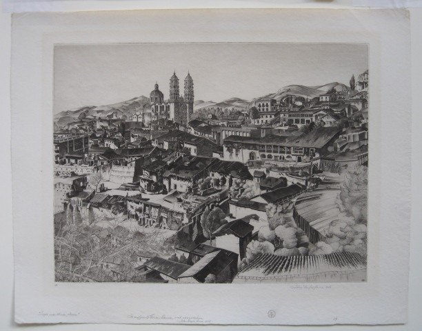 33: John Taylor Arms etching - 2