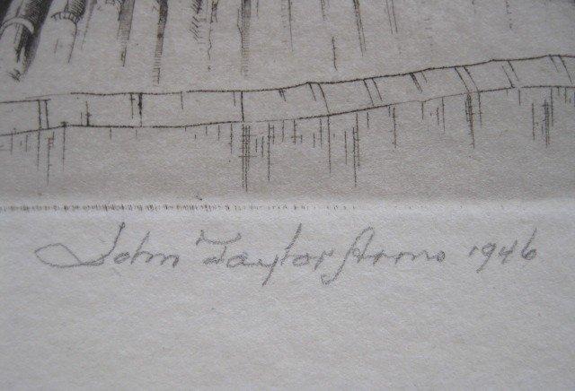 33: John Taylor Arms etching - 3