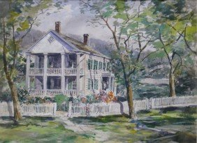 Ernest Cramer Watercolor